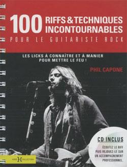 100 Riffs pour le guitariste rock
