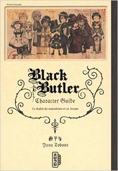 Black Butler character guide T1