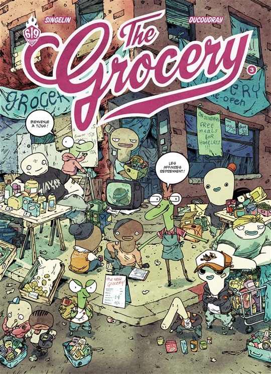 extrait The Grocery T3