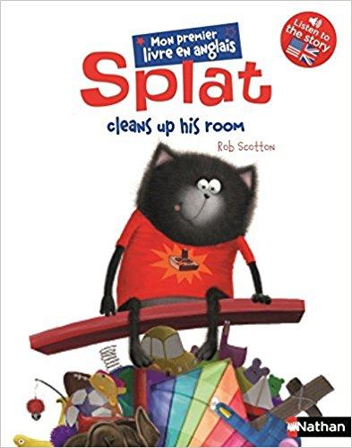 Splat cleans up his room de Rob Scotton